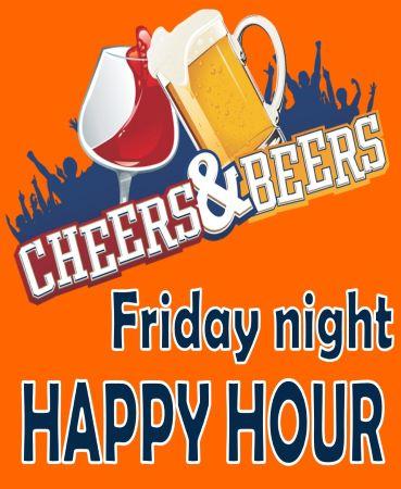 Friday night Happy Hour
